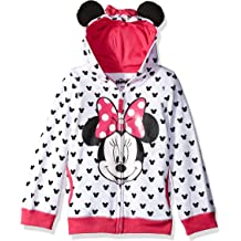 2T Everest and Marshall Hearts French Terry Sweatshirt Cream//Pink Paw Patrol Little Girls Toddler Skye