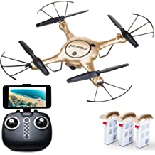 F111 Phoenix Foldable Wi-Fi FPV Drone with Camera Live Video Capability Force1