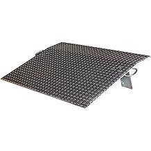 36 Length Industrial Aluminum Dockplate 36 Wide 36 Long 3,238 lbs Capacity 36 Width