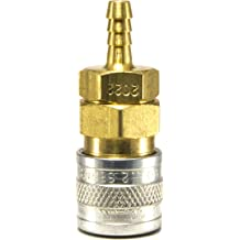 Red ColorConnex Industrial Type D FNPT Coupler Legacy A73410D 2 Pack 1//4in
