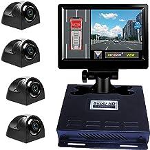 Noiposi Backup Camera and Monitor kit for Car Universal Waterproof Night Visi...