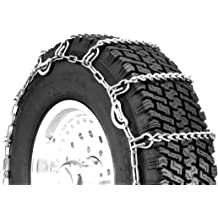 Set of 2 Security Chain Company QG2829CAM Quik Grip V-Bar Light Truck CAM LRS Tire Traction Chain