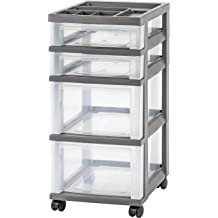 12 By 12-inch Art Craft Storage Artbin Essentials Storage Box With Handle