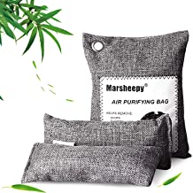 Car and Office 8 Packs Angbo Bamboo Charcoal Air Purifying Bags Odor Eliminators for Home
