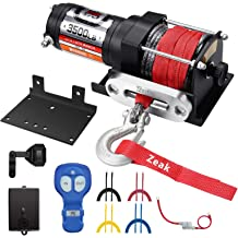 3500lb Winch with Cable AC-DK 12V 3500lb ATV Winch UTV Winch Electric Winch Set for 4x4 Off Road