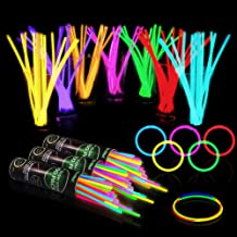 Glow Sticks Party Pack Mix Colour Bracelet Anklet Necklace For Kids Adults Party