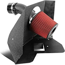 DNAMotoring AIP-2-HS-300C05HEMI-SLSL Air Intake System and Heat Shield
