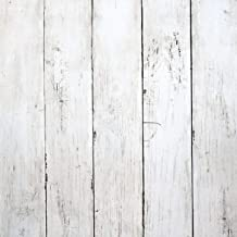 Self-Adhesive Peel /& Stick Wallpaper Removable Vintage Wooden Stripes Home Decor