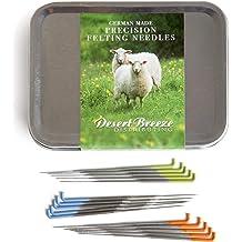 Color Wooden Handle Holder,Felting Needle Mat for Crafts Making Needle Felting Needles Felting Starter Kit with 3 Sizes Felting Needles 66 Pcs Felt Needle Tool 36 Gauge, 38 Gauge, 40 Gauge