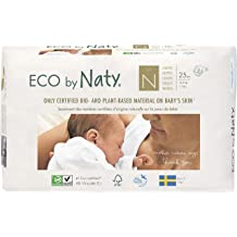 Plant-Based Premium Ecological Pull-Ups with No Nasty Chemicals 3T-4T Size 5 Eco by Naty Pull-Ups Training Pants 26-40 lbs 80 Count One Month Supply