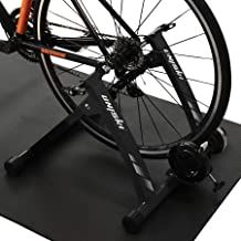 catazer Indoor Bike Trainer Exercise Stand Foldable Bike Fitness Stand for Road MTB Training 26-29 Inch