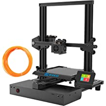 Printing Space Kingroon DIY Resume Printer with Touch Screen Assisted Level Free MicroSD Card Preloaded with Printable 3D Models 3D Printer 180x180x180mm