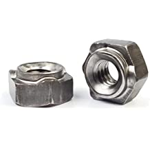 ND 3324 20 Pack 3//8-16 Spot Weld Nuts Double Tab