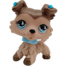 Emilys Doll lps White and Pink Short Hair Cat Blue Eyes Clear Peg with lps Accessories Kids Gift