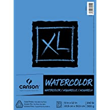 White 50 Sheets Package 9 x 12 UCreate Watercolor Paper 90lb.