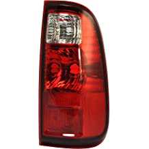 For 2008-2013 Ford F-Series F150 F250 F350 F450 F550 Super Duty SD SuperDuty Pickup Truck Taillight Taillamp Rear Brake Tail Light Lamp Left Driver Side 2008 08 2009 09 2010 10 2011 11 2012 12 2013 13