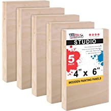 American Easel 11 Inch by 14 Inch by 1 5//8 Inch Deep Cradled Painting Panel