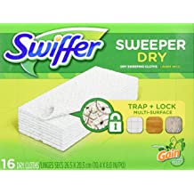 17-inch Wide Duster Heavy Duty Sweeper Mop by Swiffer Professional Tile or for Hand Dusting Case of 3 Ideal for Industrial or Commercial use on Hardwood
