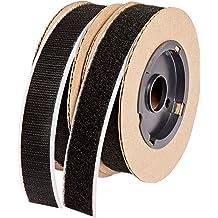 30 Length VELCRO 1003-AP-PB//H Black Nylon Woven Fastening Tape Standard Back Sew-On Hook Only 3//4 Wide