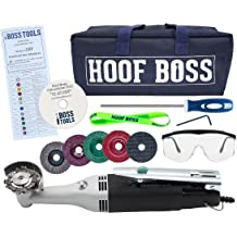 Accessories Included Complete Battery Powered Trimming Set for Hooves Mobile Cow Hoof Trimmer