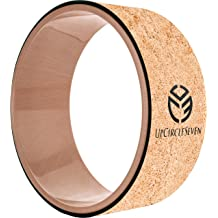 Perfect For Stretching Cork Yoga Wheel Set Improve Flexibility and Backbends Yoga Wheel /& Strap 13 Inch Nillygym