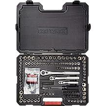 3//8-Inch Drive CRAFTSMAN Mechanics Tool Set SAE // Metric 32-Piece CMMT12013